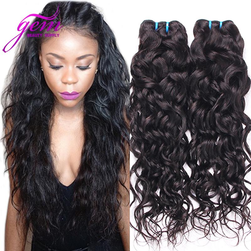 Cheap 6A Peruvian Water Wave Virgin Hair 3PCS Bele Peruvian Wet Wavy Ocean Weave Unprocessed Peruvian Loose Curl Sunlight Hot 1b<br><br>Aliexpress