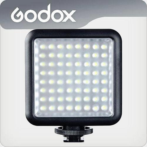 GODOX LED64 photo camera lights LED-64 video light wedding news interview as the fill light lamp light DV cameras(China (Mainland))