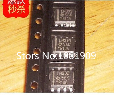Best quality 10 LM393DR LM393 SOP-8 TI  -  CN electronic components flagship store store