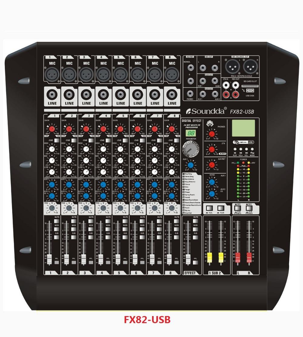 Harga Audio Mixer Audio Mixer Fx82-usb Rack