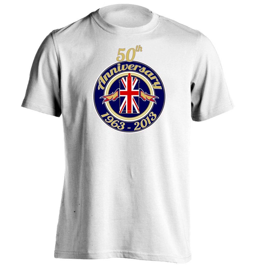 50 th anniversary mens womens unisex custom t shirt
