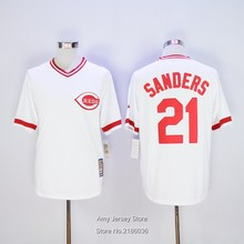 #21 Deion Sanders 1990 Throwback 100% Stitched Jersey White Size M-3XL(China (Mainland))
