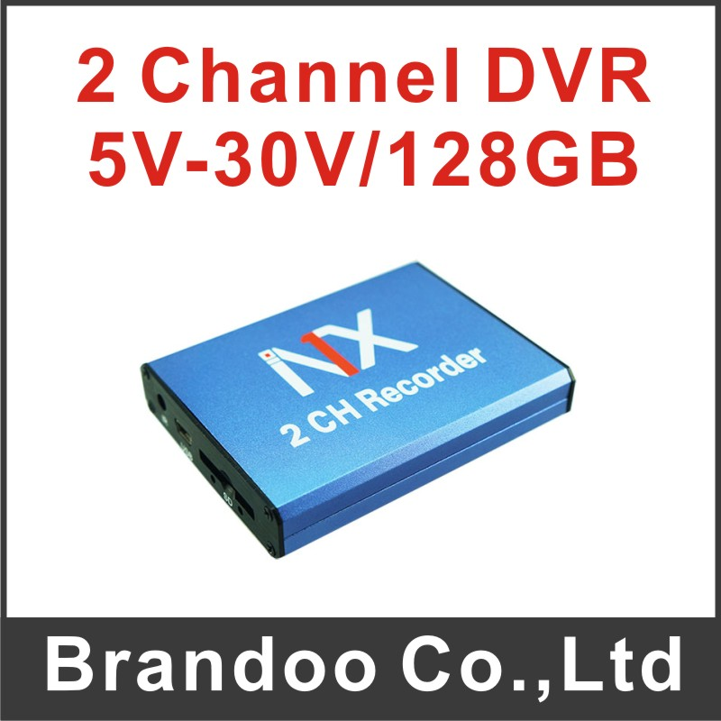 60f/s 2 channel SD DVR for warehouse used(China (Mainland))