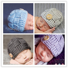 15 colors Baby Hat Winter Newborn Girl Beanie Cape Pattern Boys hat Handmade Baby Hat Crochet Baby Photography Props