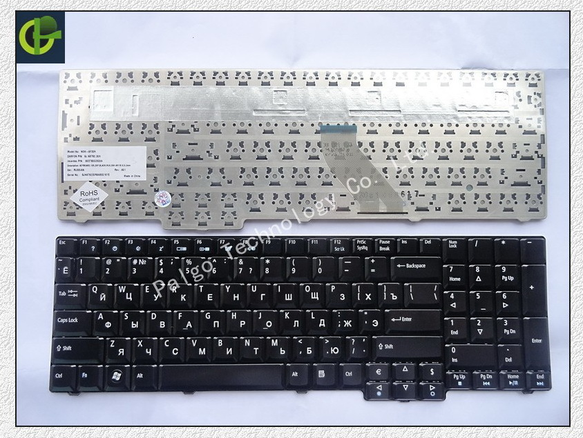 5pc/lot Russian Keyboard for Acer Aspire 6530 6530G 6930 6930G 8920 8920G 8930G 8930 7530 7730 7730G 7730Z RU Black keyboard<br><br>Aliexpress