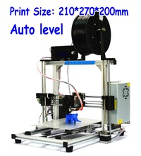 HIC 100% Brand New Auto Leveling High accurancy DIY Kit  3D Printer with Aluminum Frame (3dp-12)