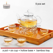 2015 New Gaiwan Real Sale No Six piece Set Glass Eco friendly Stocked Ce Eu Ciq