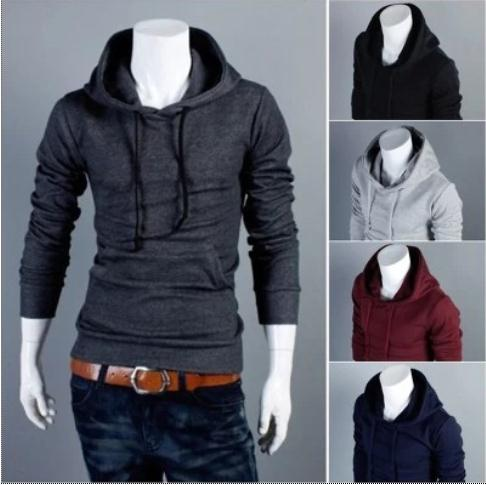2015 New Arrivals Men Hoodies Mens Sports Casual Sweatshirt Jackets Outerwear Fashion Men's Pullover 5 Color M-XXL - Man's World Clothing Store store