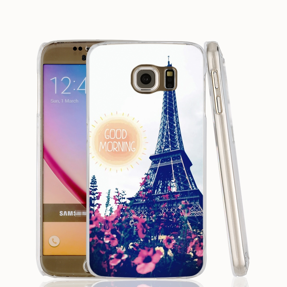 france paris cell phone case cover for samsung galaxy s7 edge plus s8 s6 s5 s4 s3 mini us27. Black Bedroom Furniture Sets. Home Design Ideas