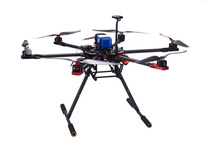 SkyhawkRC Hexacopter retractable landing skidprofessional drones FPV GPS autopilot UAV VS DJI S800 Hexacopter frame kits