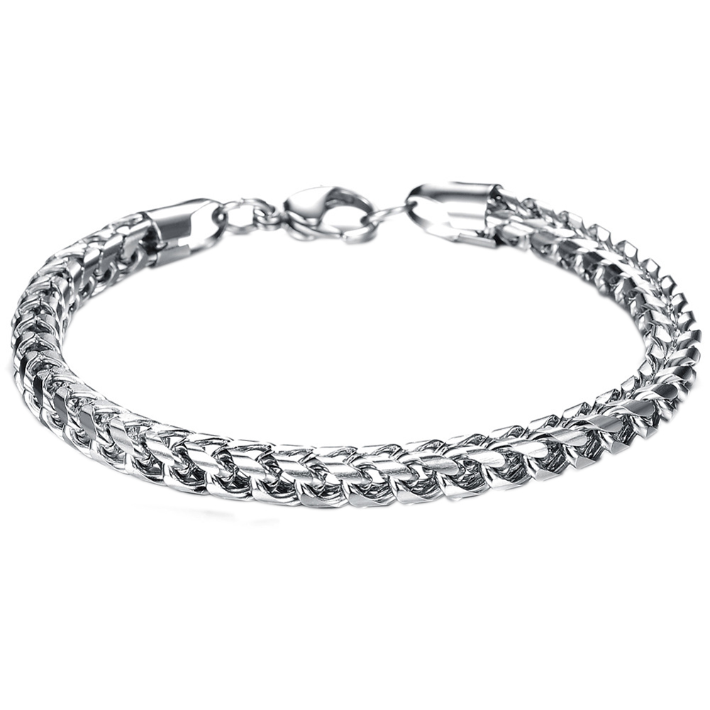 Hot Sale Summer Style Hand Chain Man Stainless Steel Snake Bracelet & Bangles Men Accessories Jewelry Gift for Best Friend BS88(China (Mainland))