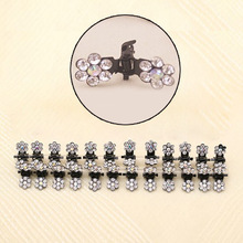 Charming Sweet Exquisite Rhinestone Plum Flower Gripper Hair accessories Claw Clip Wedding Party Gift(China (Mainland))