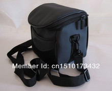 Waterproof and shockproof Camera Case Bag For Nikon Coolpix L120 L110 P500 P100 L810 L310 P510 L820 P520 Black Leather Soft
