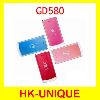 Original LG Cookie GD580 Unlocked 3.15MP Camera Mobile Phone Free Shipping