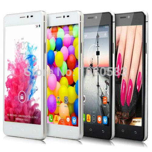 Dual Core Dual Sim 5.0inch 4GB 3G GPS 854x480 android phone Dual camera Russian Language mobile phone Free Shipping+GIFT(China (Mainland))