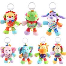 7 Arten 2016 Baby Spielzeug Tier Baby Rasseln & Handys Infant Plüsch Lernen Produkte Kinder Geschenk(China (Mainland))