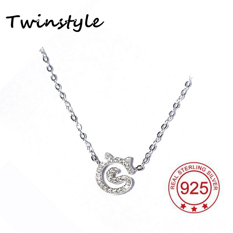 Real Pure 925 Sterling Silver Pendant Necklace CZ Diamond Jewelry for Women Wedding Engagement Brand Design shape of heart(China (Mainland))