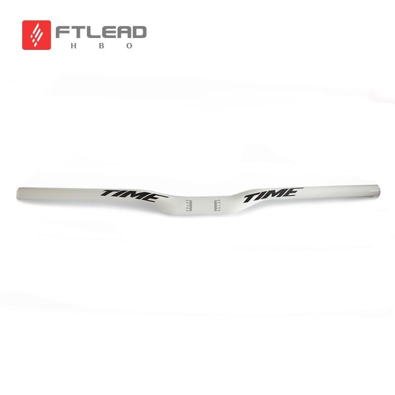 Time Carbon mountain bike bicycle handlebar Bule carbon handlebar MTB 3k glossy 31.8*600/640/660/680/700/720mm Flat handlebar<br><br>Aliexpress