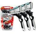 3 Pcs lot 6 Blades Razor for Men DORCO Shaver Razor Men Shaving Personal Stainless Steel