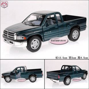 New 1:44 Dodge Pickup Ram Alloy Diecast Model Toy collection Car Green B1869(China (Mainland))