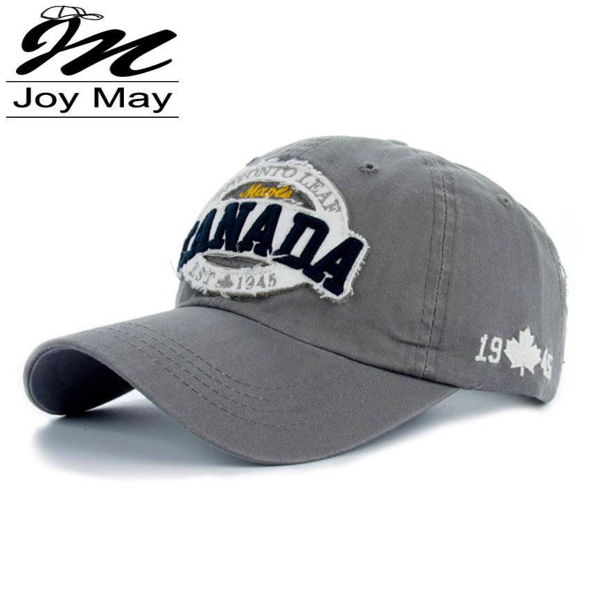 New Arrivals Cotton Gorras CANADA Baseball Cap Vintage Casual Hat Snapback Adjuatable Baseball Caps Brand New For Adult B333(China (Mainland))