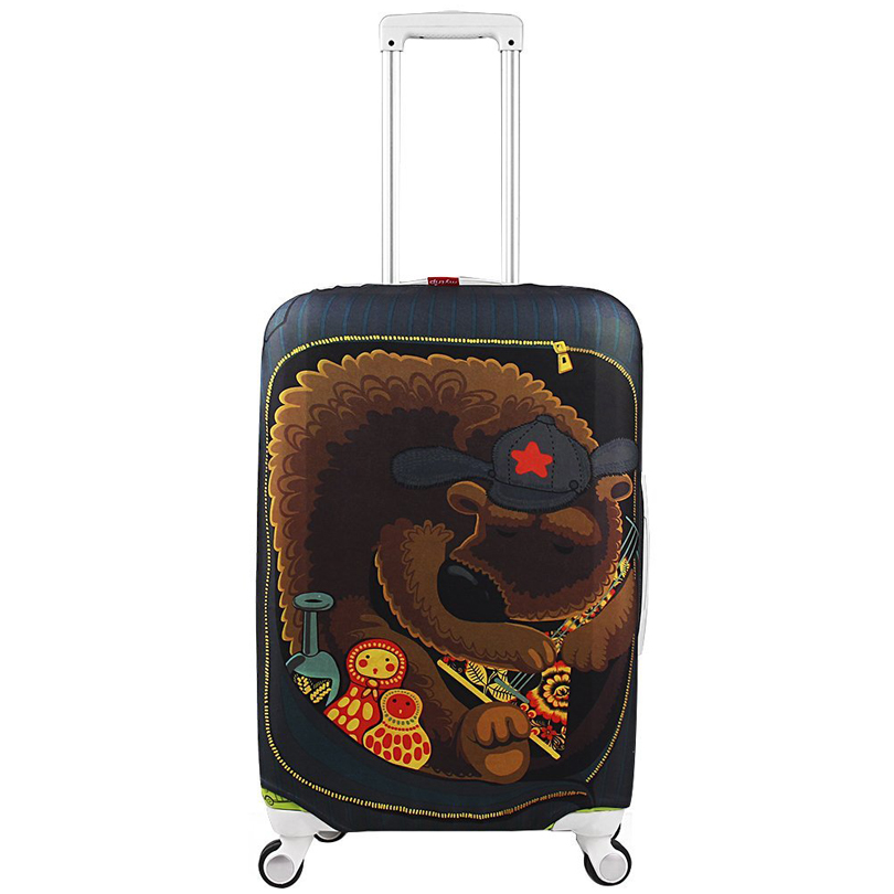 Travel on Road Luggage Cover Protective Suitcase cover Trolley case Travel Luggage Dust cover for 18 to 32 inch(China (Mainland))