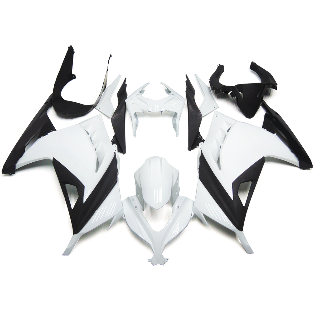 Injection Motorcycle Fairings For Kawasaki Ninja 300 13 14 EX300R 2013 2014 Complete Fairing Kit ABS Plastic Cowling White Black(China (Mainland))