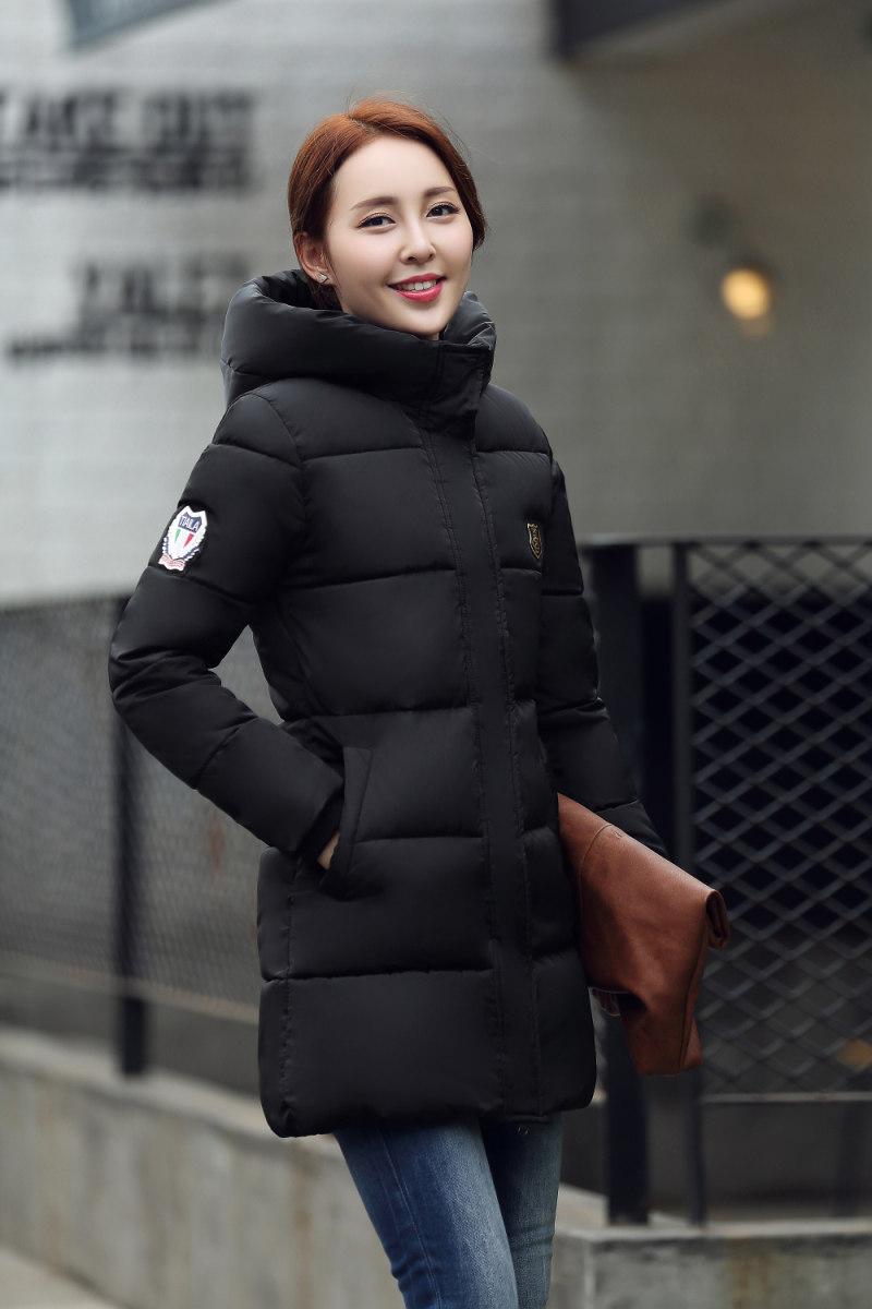 Женские пуховики из Китая