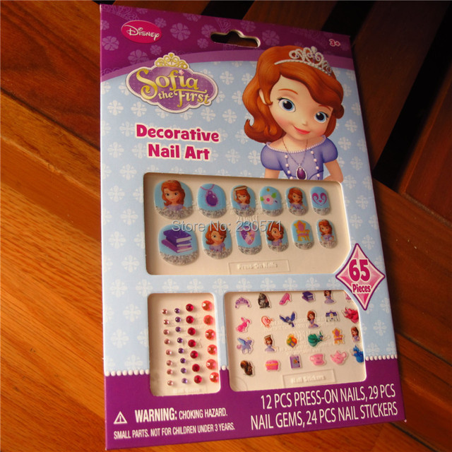 Nail art decals party