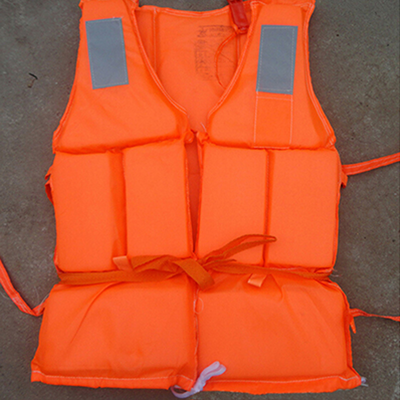 Adult Foam Life Jacket Vest Flotation Device + Survival Whistle Prevention Flood Fishing Rafting Drift Sawanobori Water Sports(China (Mainland))