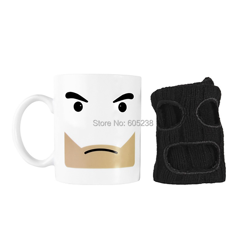 EMS Free Shipping Wholesale 96Pieces Mugga Mug Criminal Coffee Mug with Cup Warmer Mask Best Price(China (Mainland))