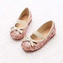 2015 autumn spring summer and winter childrens girls Sequins warm bow Plush shoes LY-918