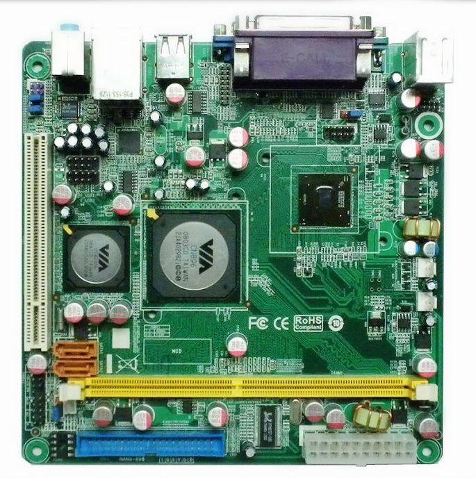 Pos machine special motherboard pc3000e performance via pc3000 c7 1.2g(China (Mainland))