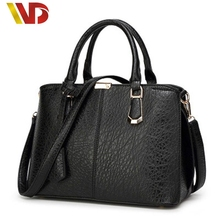 Luxury Famous Designer Brand 100% Real Genuine Leather Bags Women Handbag High Quality Candy Color Ladies Tote Shoulder Bag 2016