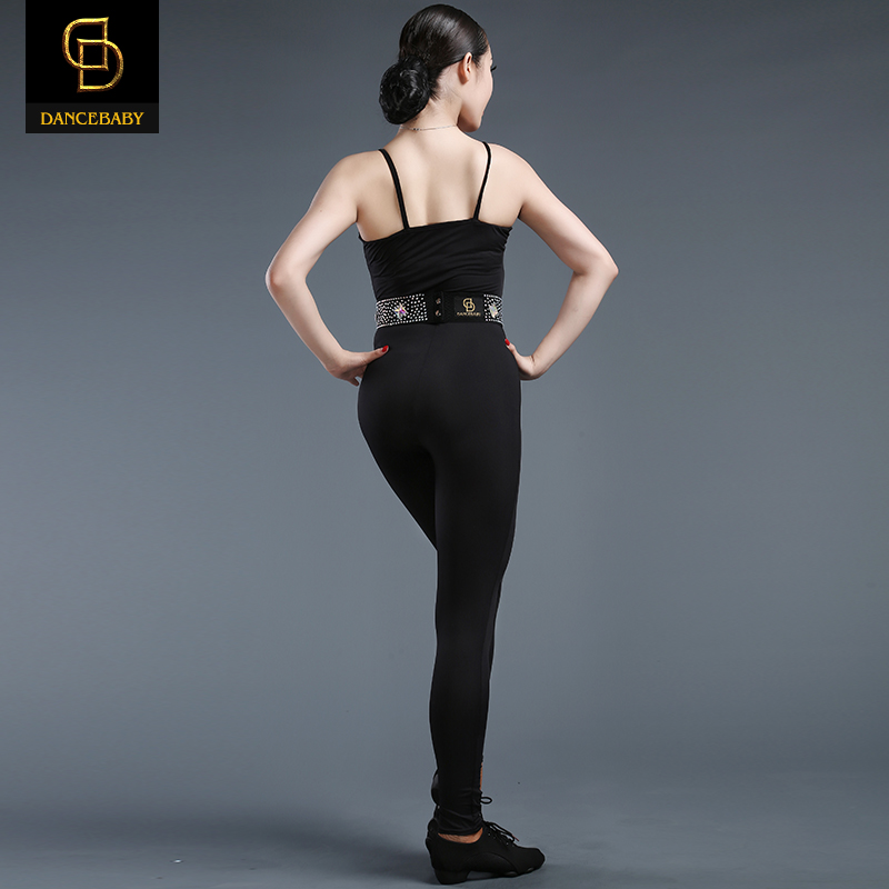 Ballroom Dress Dance Costumes Kids Latin Promotion Modal Women 2016 New Pants One-piece Jumpsuit  -  DANCE WORLD store