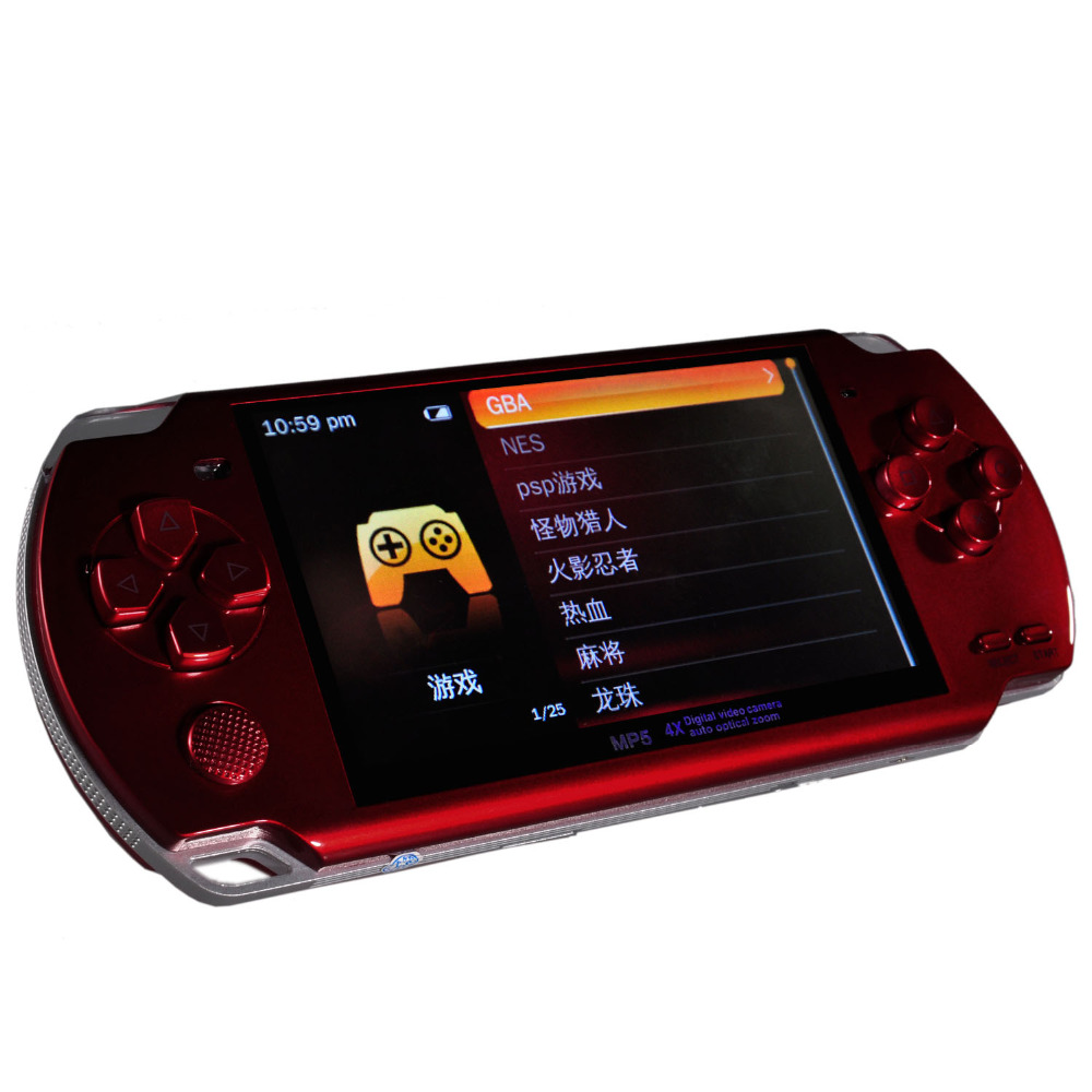 New MP4 MP5 Portable Multimedia Player With Digital Video Camera Auto Optical Zoom and TF Card Slot(TF Card NOT Included)(China (Mainland))