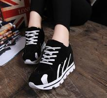2015 spring and autumn casual sports shoes round head waterproof Taiwan Within the higher shoes factory