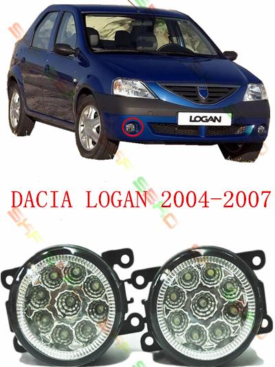 For dacia LOGAN 2004/05/06/07 car styling led lamp Refit modified 12V 2 PCS(China (Mainland))