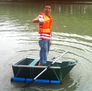 High-quality folding boat \ fishing boat \ kayaks \ inflatable boat \ \ cleaning ship 1.4M for 1 person(China (Mainland))