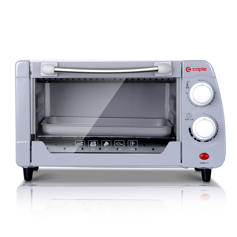 Household Baking Mini Oven 11L Stainless Steel handle Housing Glass Electric Oven Cake Toaster Kitchen Appliances(China (Mainland))