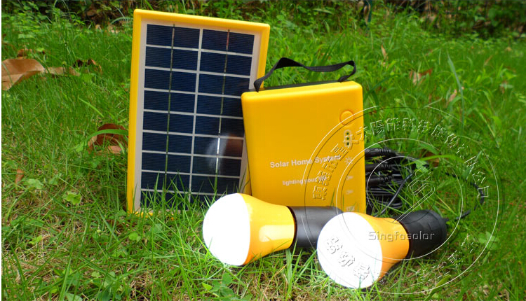 Mini Portable Off Grid Solar Power System For Home 3W Solar Panel Manufacturers In China 1W Led Lamps For Lighting SFPS3W(China (Mainland))
