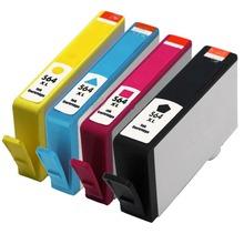 4x неоригинальные 564 XL картридж для HP Photosmart 5510 5515 5520 принтеров