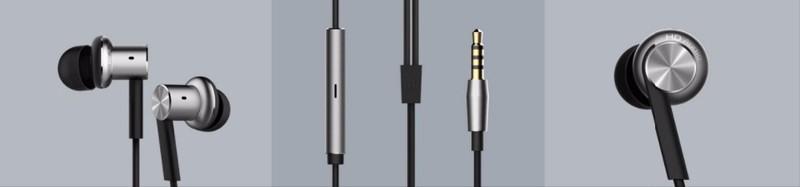 2016 Original Xiaomi Hybrid Earphone In-Ear Headset 3.5mm Mi 1 More Xiomi Piston 4 With Microphone Ear Phones Mp3 Mp4