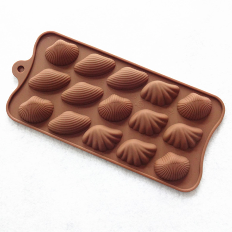 Silicone Mold 15 Sea World soap cake Chocolate jelly ice mold 3D Food Silicone Mould free Shipping(China (Mainland))