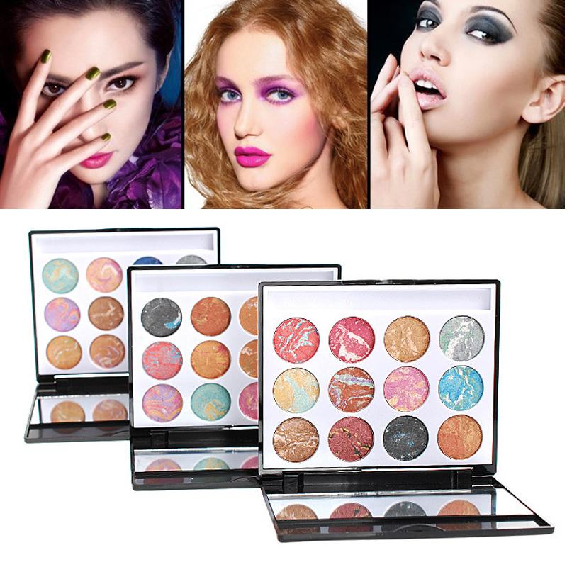 Brand Make Up 12color Eyeshadow Kit Cosmetics Urban Makeup Glitter Eye Shadow Paleta de Sombra Eyeshadow Matte Naked Palette(China (Mainland))