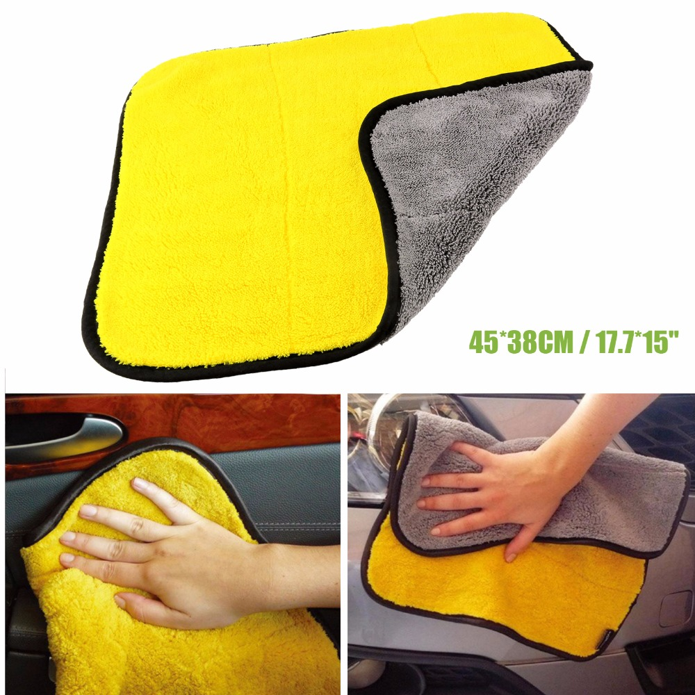 1Pcs Durable Microfiber Towel Micro Fiber Cleaning Cloths Wiping Dust Rugs For Car Home Glass Washing(China (Mainland))