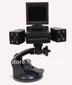 Drop shipping dual carmera H3000 car camera recorder Car dvr 120 ultra-high definition wide-angle (NC-H3000)