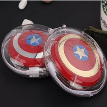 Markdowns! 1 pc power bank 10000mAh USB / The Avengers Captain America Shield Charge Mobile Power Supply free shipping(China (Mainland))