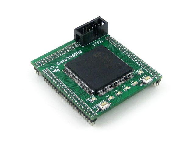 XILINX FPGA Development Core Board Xilinx Spartan-3E XC3S500E Evaluation Kit+ XCF04S FLASH support JTAG= Core3S500E(China (Mainland))