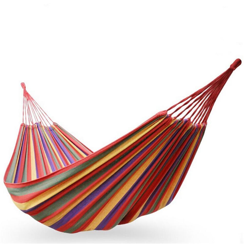 Single-Person Hammock Chair/Swing - Rainforest Red